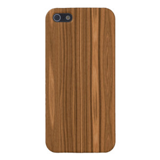 Light Brown Wood Grain iPhone 5/5S Covers
