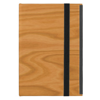 Light brown wood iPad mini cover