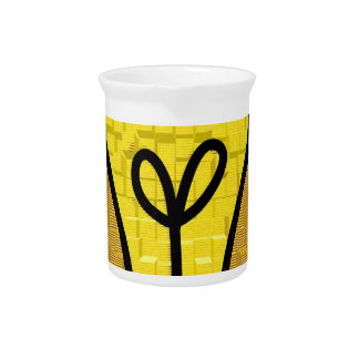 light bulb  art pitcher