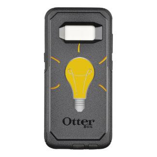 Light Bulb creative idea OtterBox Commuter Samsung Galaxy S8 Case