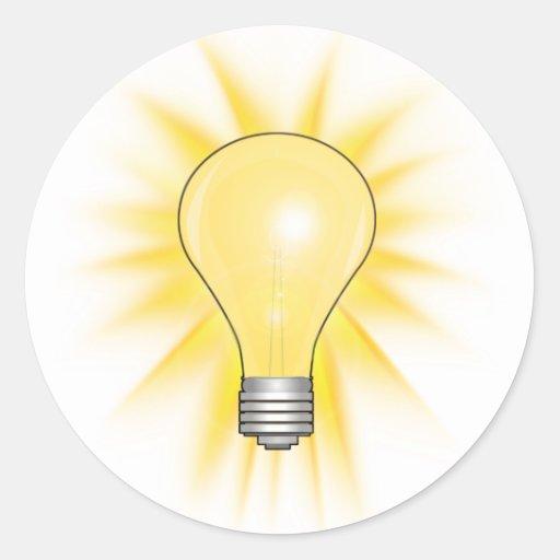 Light Bulb - Dim The Lights Sticker