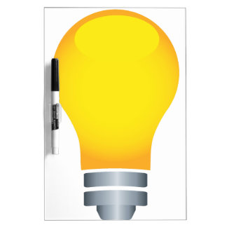 Light Bulb Dry Erase Board