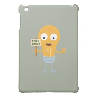light bulb free hugs happy Zggq6 Case For The iPad Mini
