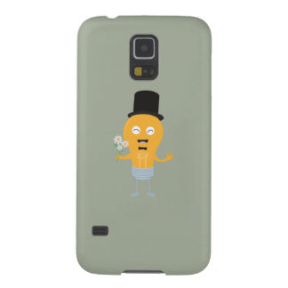 light bulb groom with flowers Z4686 Cases For Galaxy S5