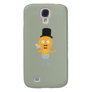 light bulb groom with flowers Z4686 Galaxy S4 Case