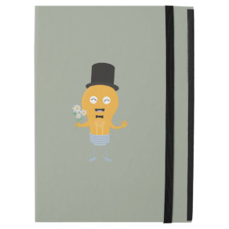 "light bulb groom with flowers Z4686 iPad Pro 12.9"" Case"