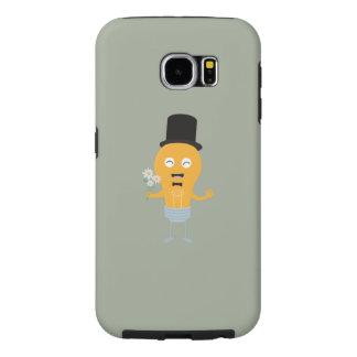 light bulb groom with flowers Z4686 Samsung Galaxy S6 Cases