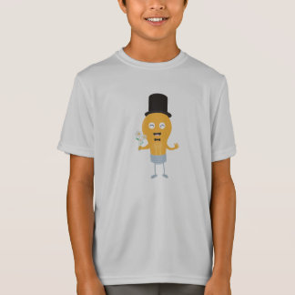 light bulb groom with flowers Z4686 T-Shirt