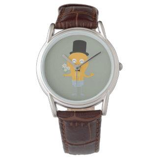 light bulb groom with flowers Z4686 Watch