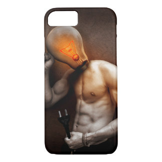 Light Bulb Man Idea iPhone 7 case