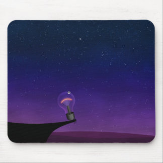 Light bulb mouse pad