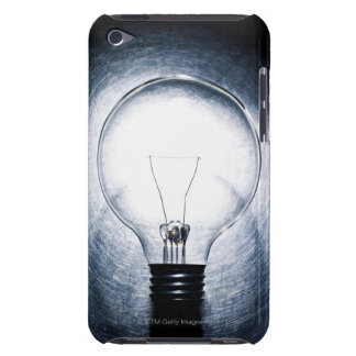 Light Bulb on Stainless Steel Background iPod Touch Case-Mate Case
