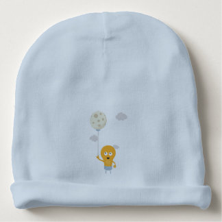 light bulb switch on the moon Ze7r4 Baby Beanie