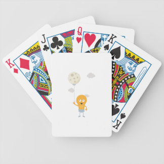light bulb switch on the moon Ze7r4 Bicycle Playing Cards
