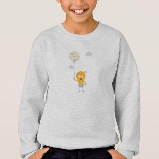 light bulb switch on the moon Ze7r4 Sweatshirt