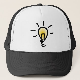 Light Bulb Trucker Hat