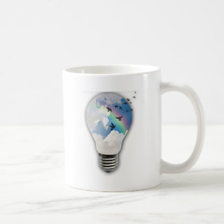 Light Bulbs Actually Spur Bright Ideas Coffee Mug