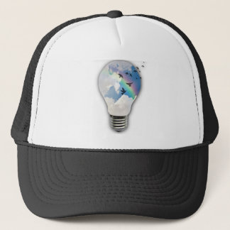 Light Bulbs Actually Spur Bright Ideas Trucker Hat