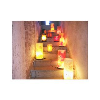 Light Bulbs Canvas Print