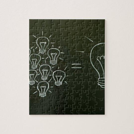 Light bulbs teamwork concept.jpg jigsaw puzzle