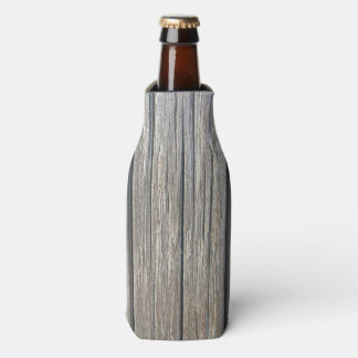 Light Color Wood Pattern Bottle Cooler