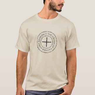 Light-Colored Shirt:  English St. Benedict Medal T-Shirt