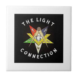 Light Connection Ceramic Tile