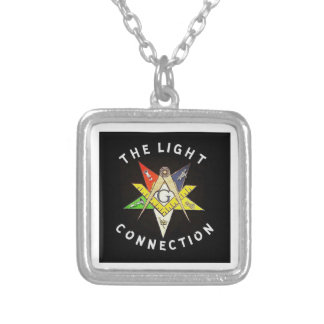 Light Connection Silver Plated Necklace