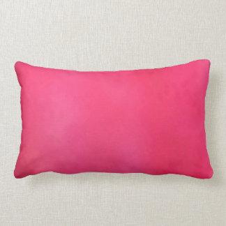light dark pink pillow Cotton Throw Lumbar Pillow