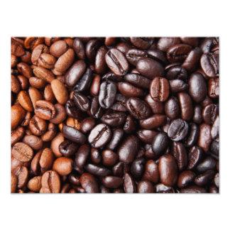 Light & Dark Roast Coffee Beans - Customized Blank Photo Print
