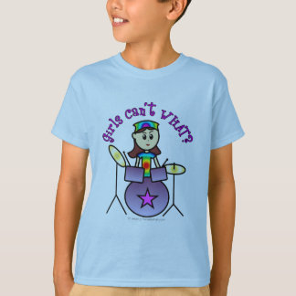 Light Drummer Girl T-Shirt
