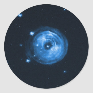 Light Echo From Star V838 Monocerotis Classic Round Sticker