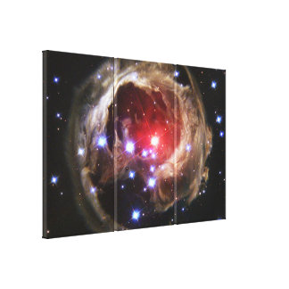 Light Echo Wrapped Canvas Gallery Wrapped Canvas