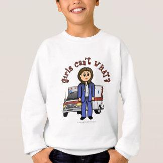 Light EMT Paramedic Girl Sweatshirt