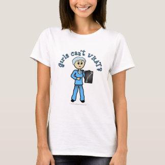 Light Female X-Ray Technologist T-Shirt
