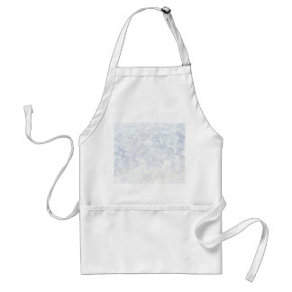 Light Floral Pattern Background Template Standard Apron