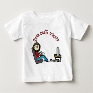 Light Gamer Girl Tee Shirts