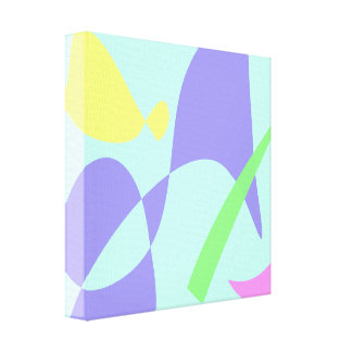 Light Gentle Soft Abstract Canvas Prints