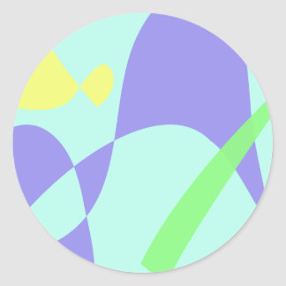 Light Gentle Soft Abstract Sticker