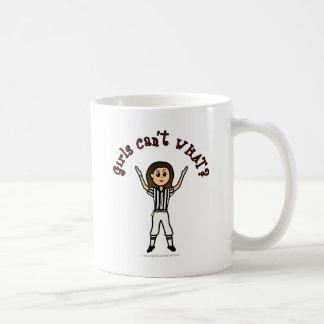 Light Girls Football Referee Coffee Mug