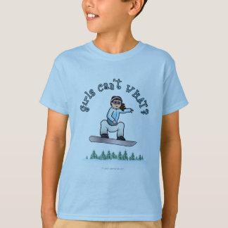 Light Girls Snowboarding T-Shirt