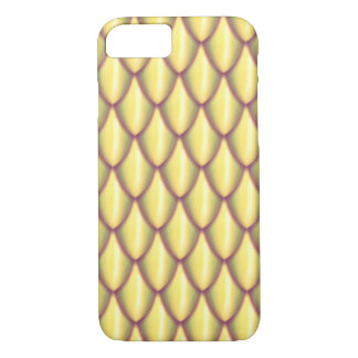 Light Gold Dragon Scale Phone Case