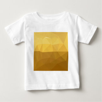Light Goldenrod Abstract Low Polygon Background Baby T-Shirt