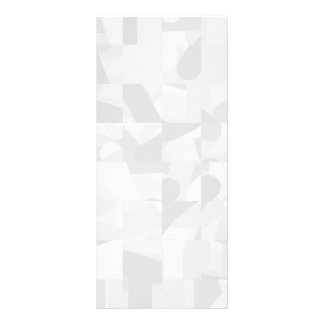 Light Gray Abstract Pattern Rack Card