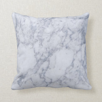 Light Gray Marble Stone Pattern Cushion