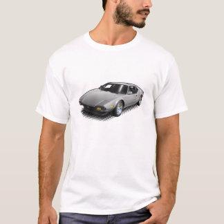 Light Gray Pantera on White T-Shirt