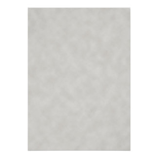 Light Gray Parchment Texture Background Poster