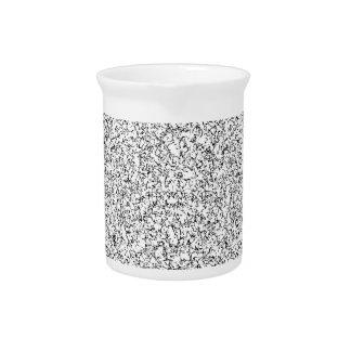 Light gray texture drink pitchers