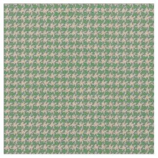 Light green houndstooth fabric