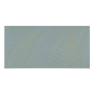 Light Green Subtle Abstract Pattern Personalized Photo Card